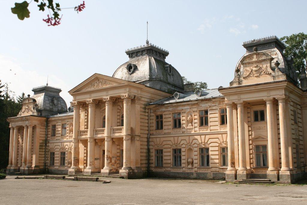 Палац Бадені в Коропці Тернопільської області