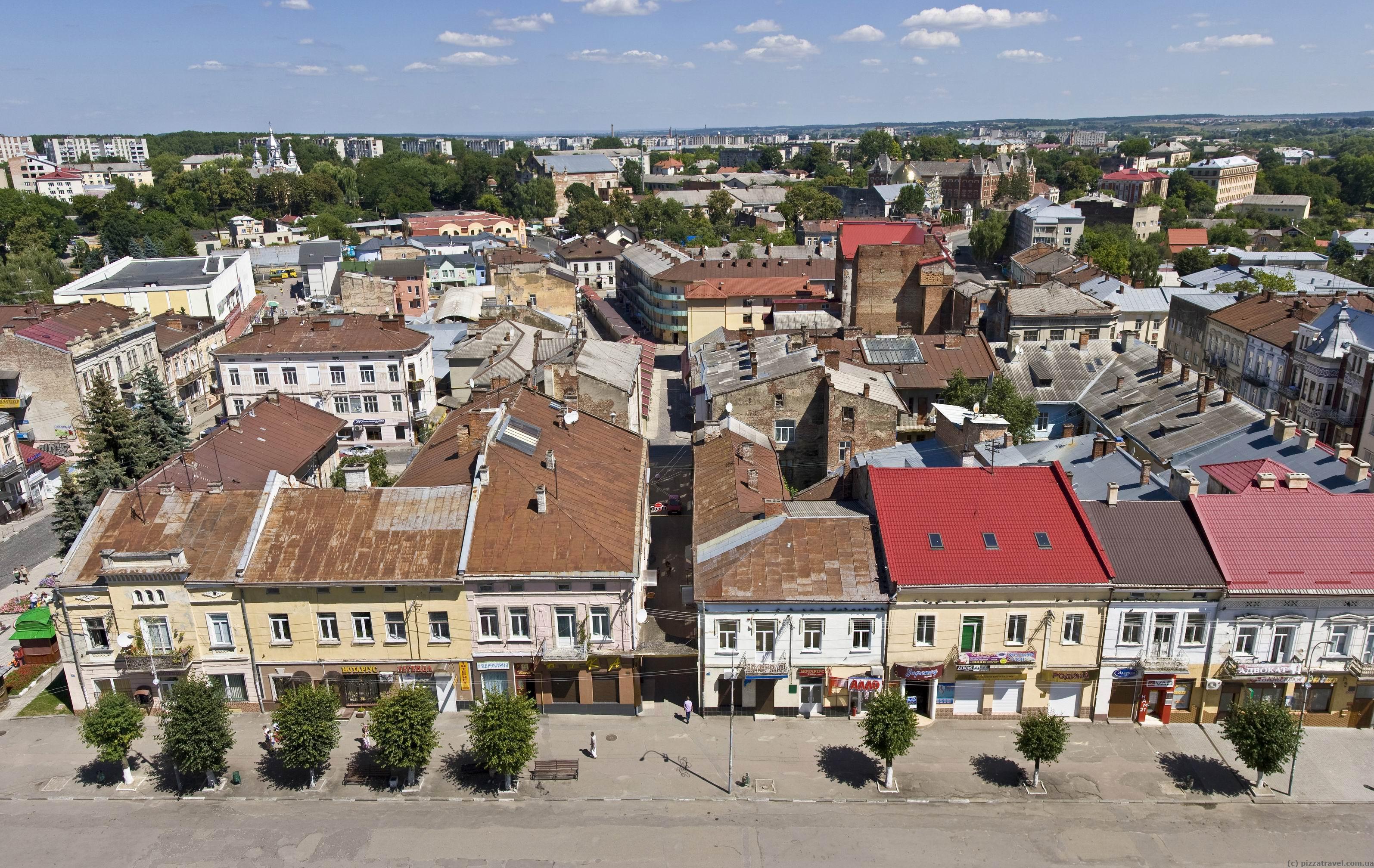 Найкрасивіші маленькі міста України