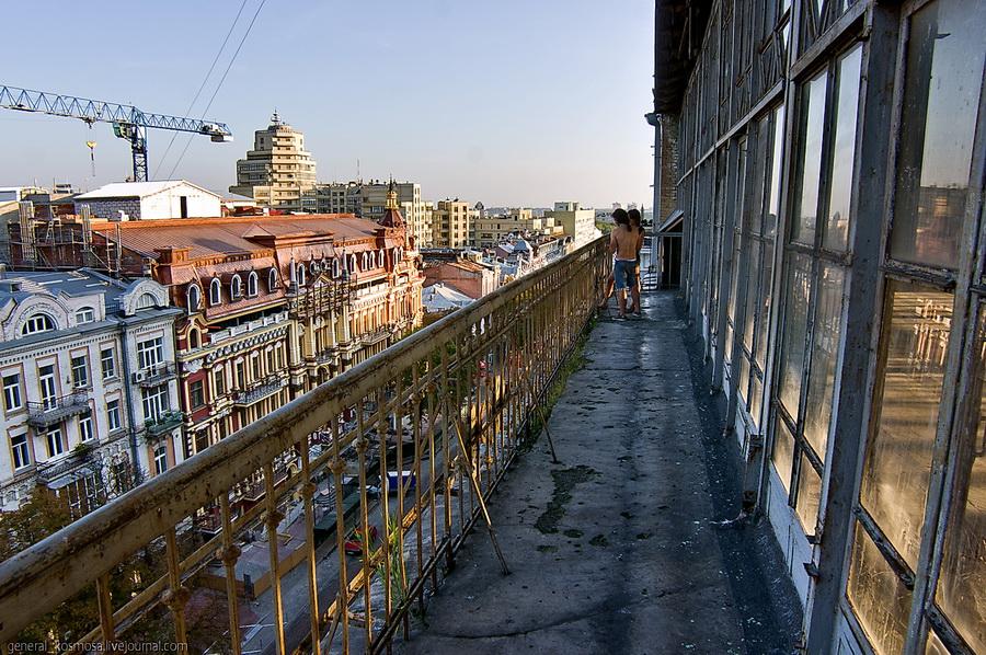 Заброшенный отель «Прага»
