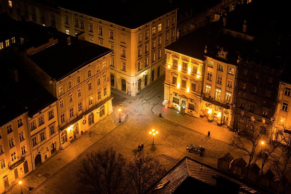 Невероятно красивое видео Львова