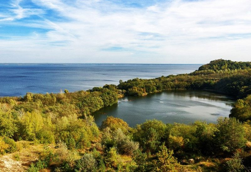 Удивительное озеро Бучак
