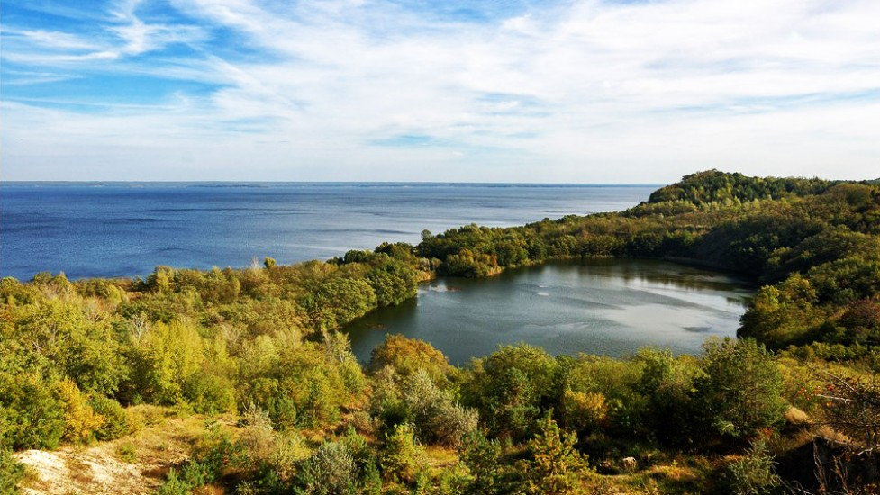 Дивовижне озеро Бучак