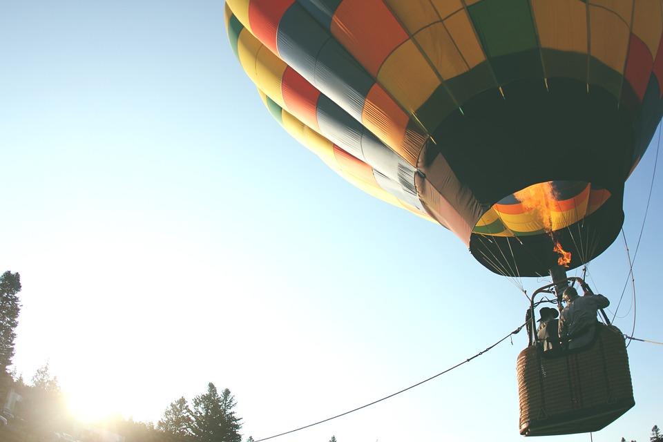 Політ на повітряній кулі в Україні