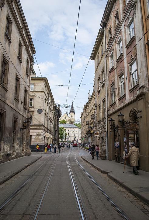 Улицы во Льове
