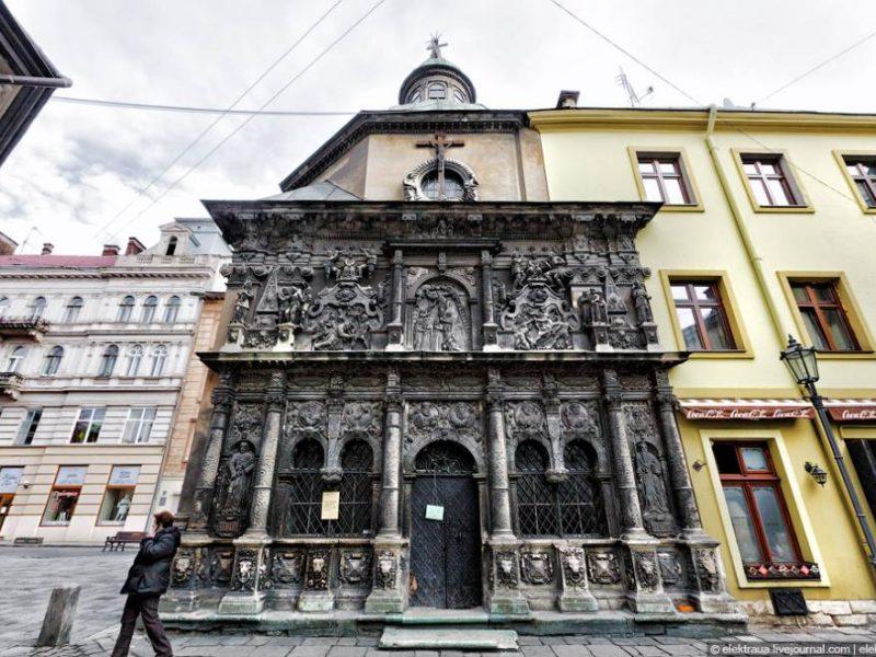 Часовня Боимов во Львове – сакральная достопримечательность
