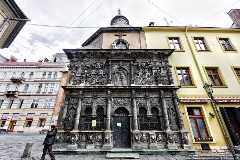 Каплицю Боїмів у Львові відреставрують цього року