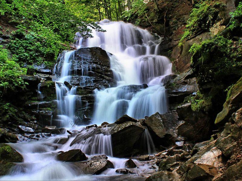 Водопад Шипот… Что нужно человеку для счастья?