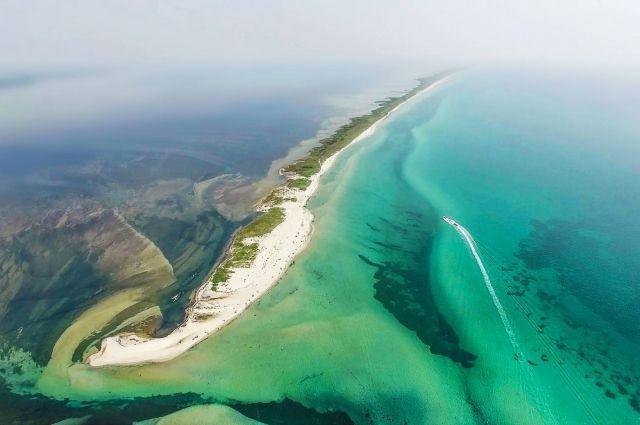 остров Джарылгач Фото 24daily.net