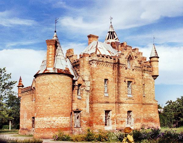 Замок Попова в Васильевке