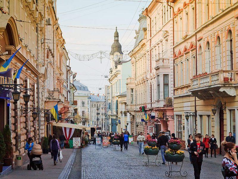 Выходные в «украинском Париже» – городе Черновцы