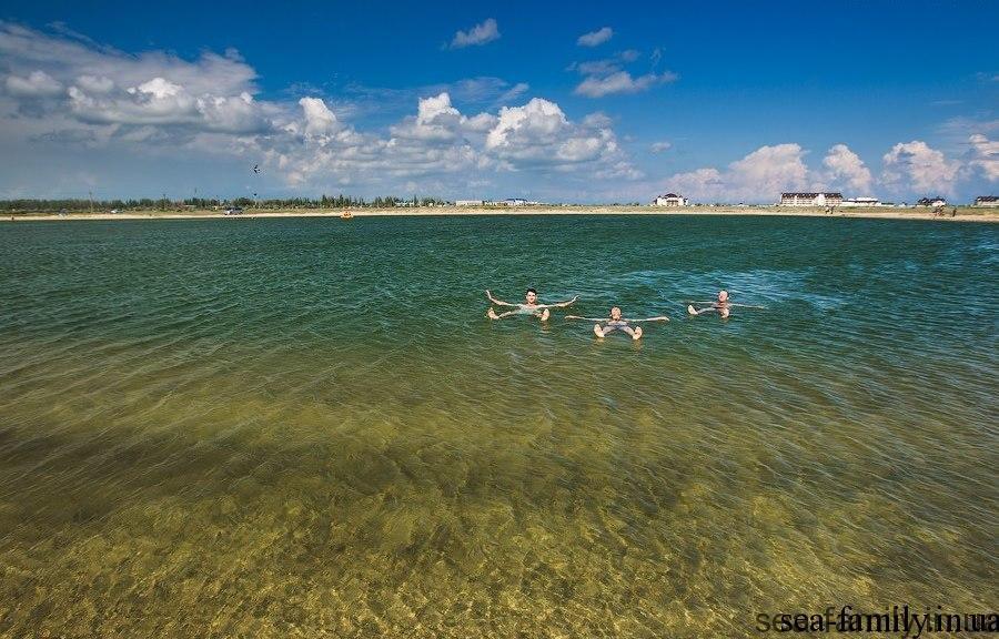 Соленые озера Украины