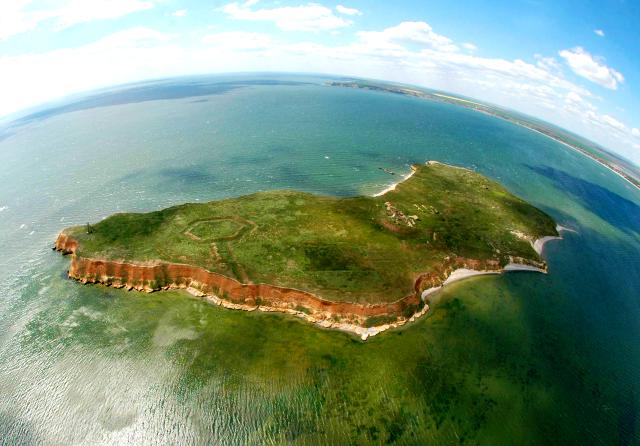 Історія острова Березань, Миколаївська область