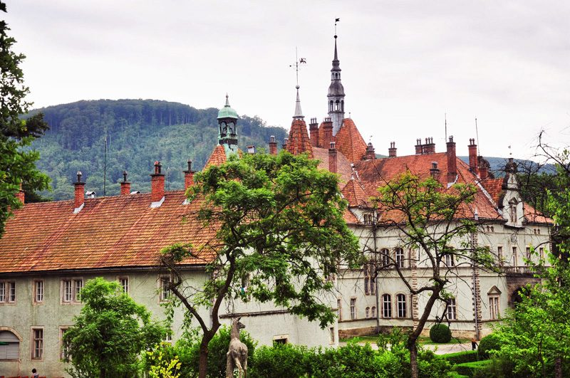 Schoenborn Palace, the Austrian tale in Ukraine