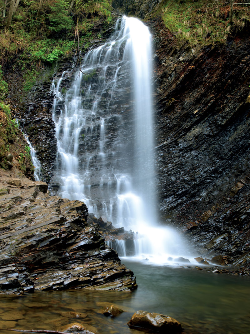Женецкий (Гук) водопад.