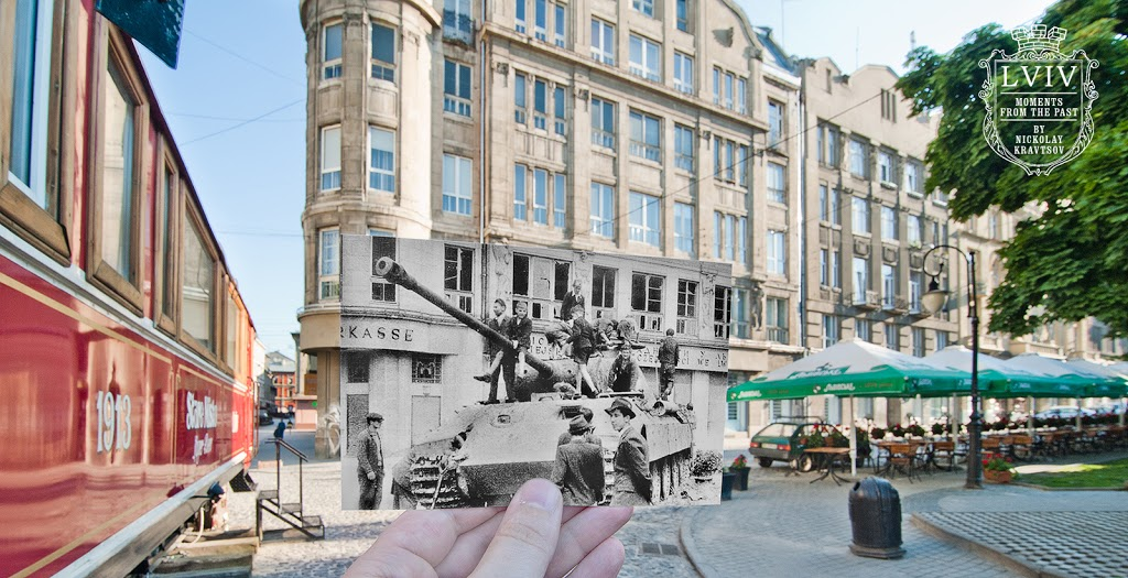 Моменти з минулого Львова у фотографіях