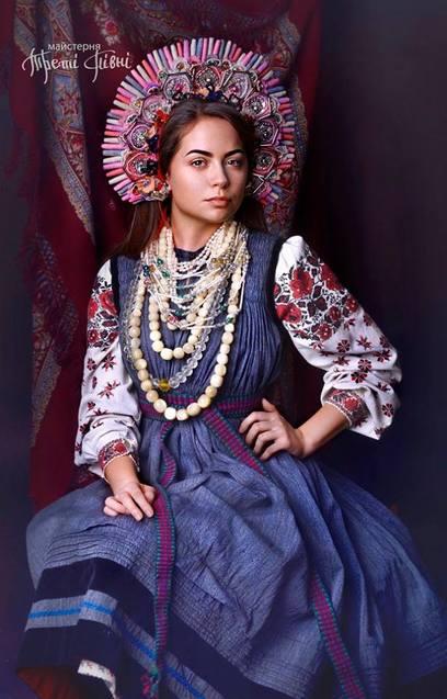 Як українки одягались на свята понад 100 років тому