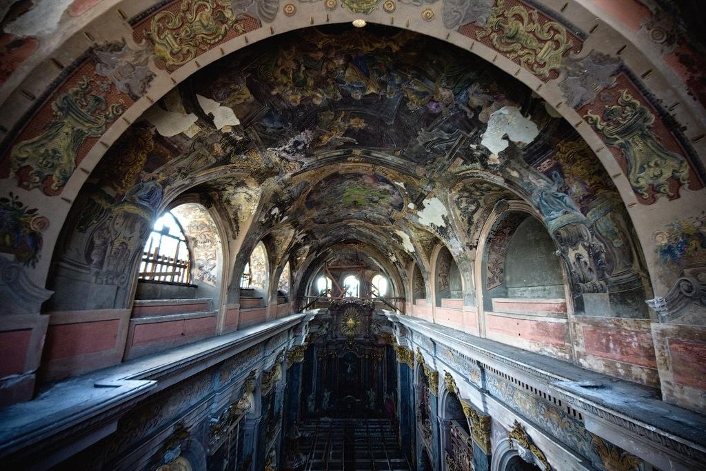 Подземелье костела отцов иезуитов