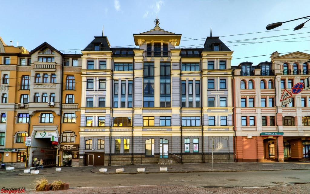 Улица Хорива в Киеве