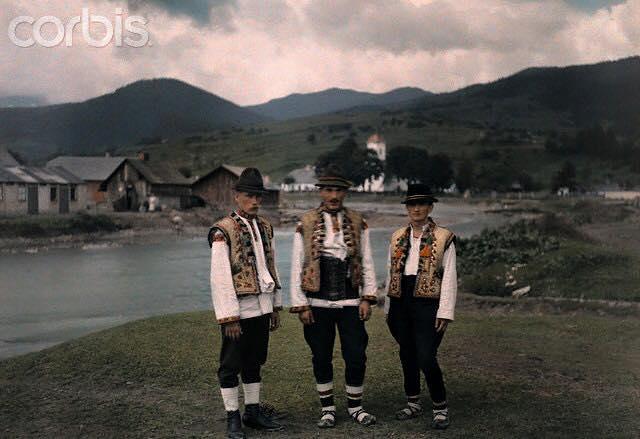 Унікальні фотографії Закарпаття 1927 року
