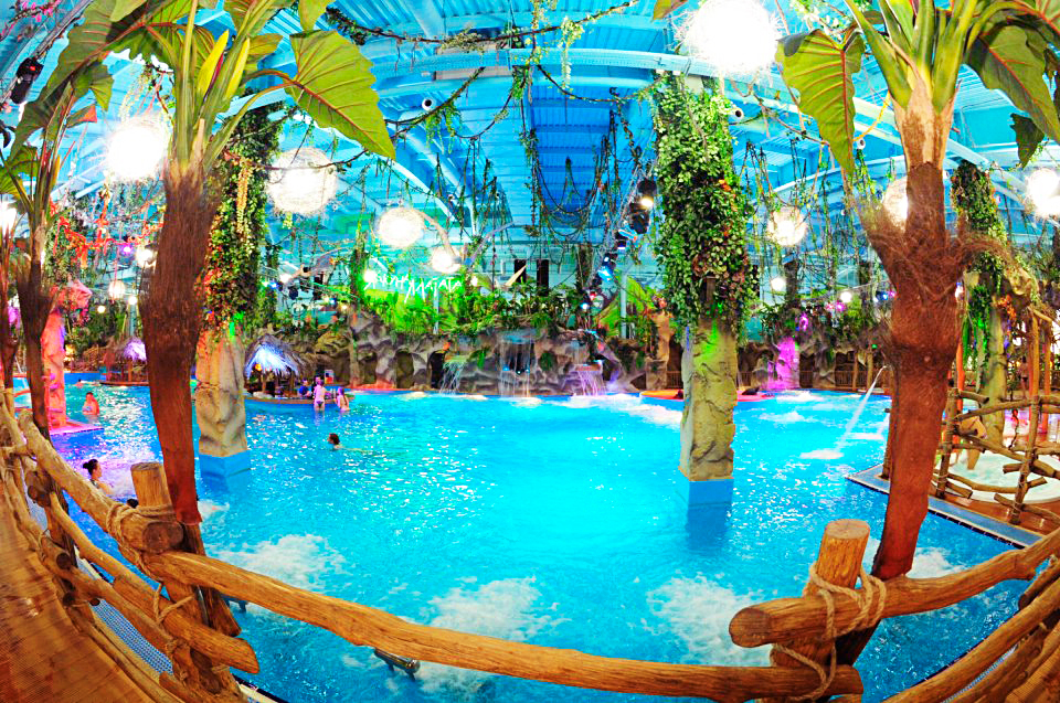 Аквапарк Dream Island в ТРЦ Дрім Таун