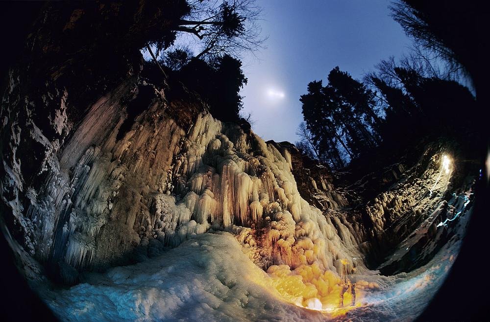 Водопад Манявский