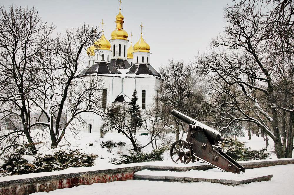 Чернигов зима