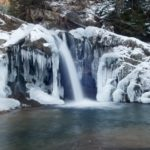 Водопады Карпат – зимой ещё красивее