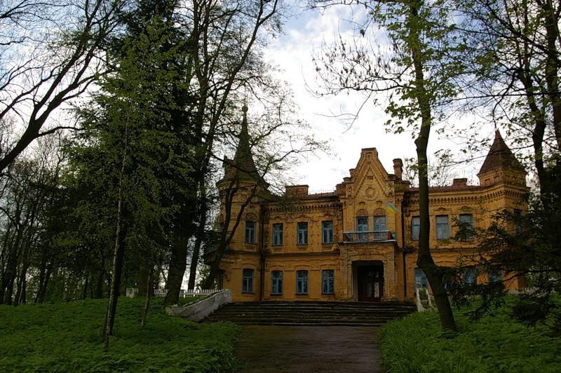 Неизвестная усадьба семьи Терещенко в Житомирской области