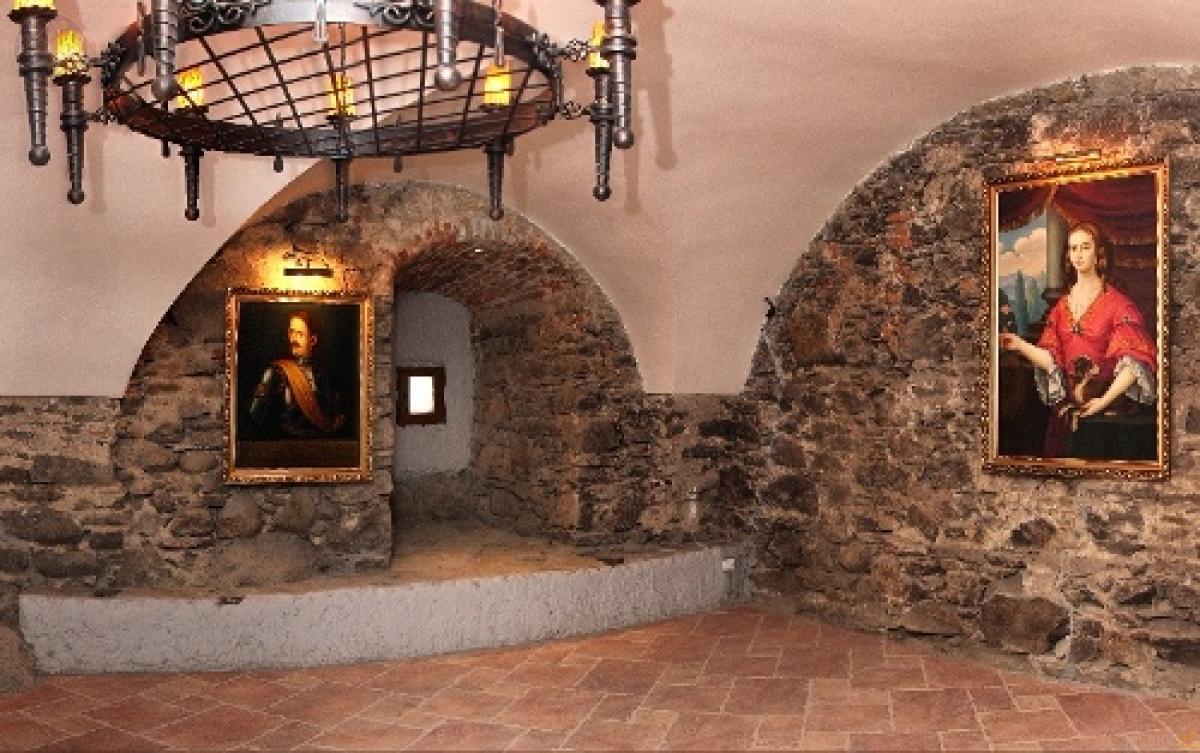 Ужгородський замок всередині
