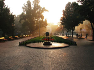 Самые красивые пешеходные улицы в разных городах Украины