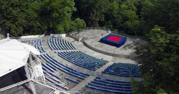 Зеленый театр в Киеве