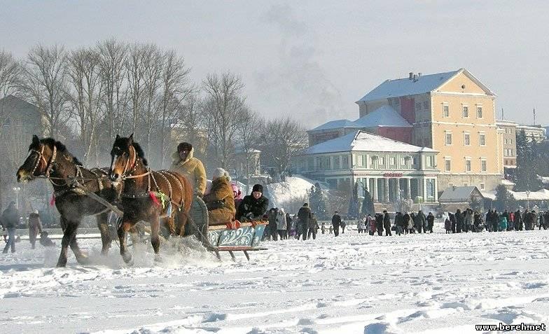 Новій год в Тернополе