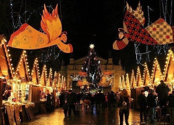 На Рождество во Львов