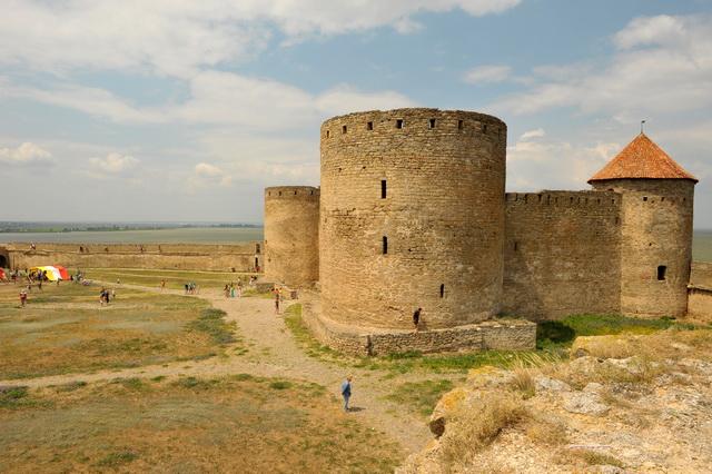Внутрішній двір Білгород-Дністровської фортеці