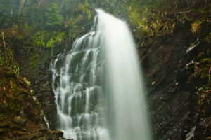 Водопад Гук Женецкий в Карпатах: история, легенда, фото и видео