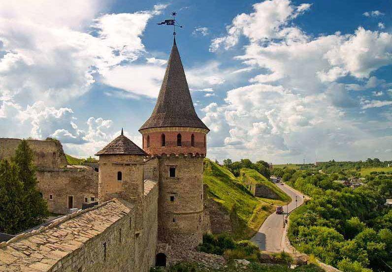 Кам'янець- Подільська фортеця.