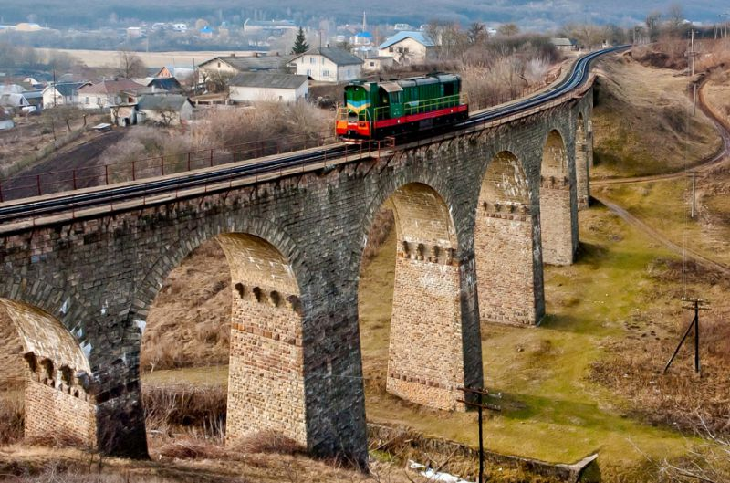 Плебановский мост-виадук