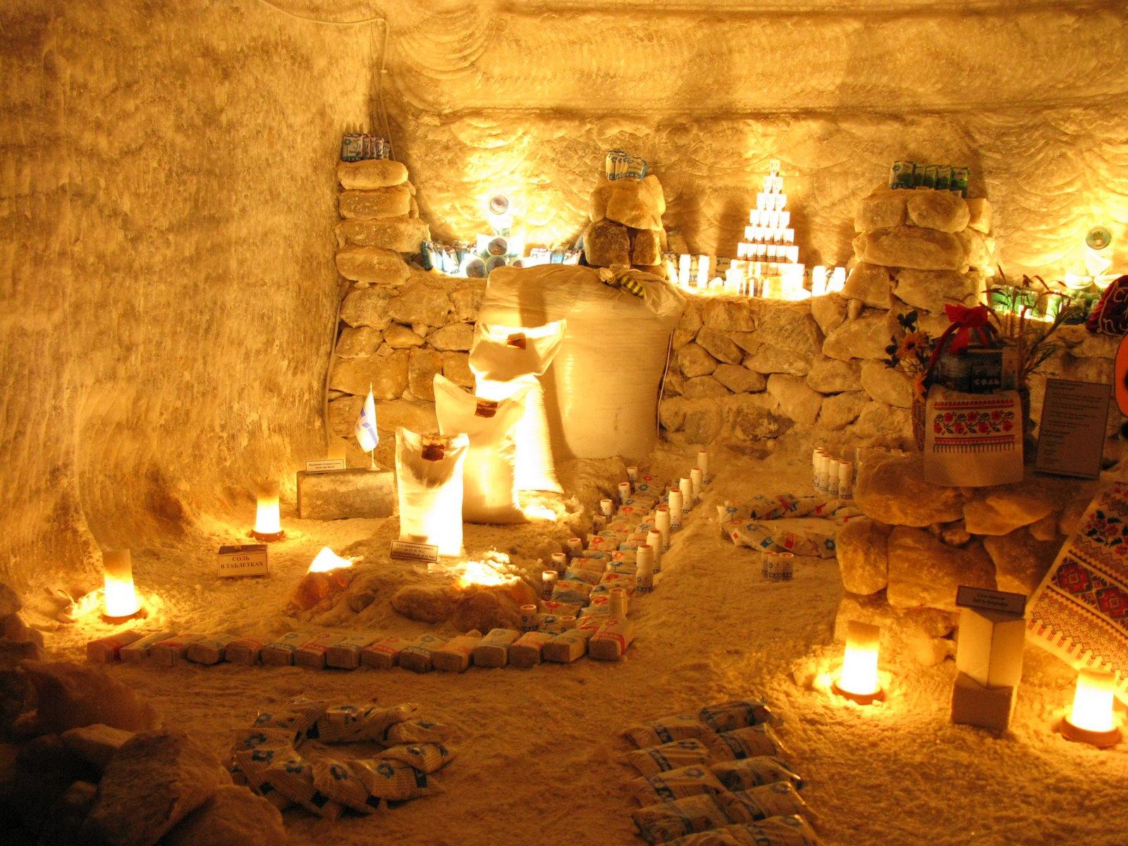 Соляные пещеры Соледар