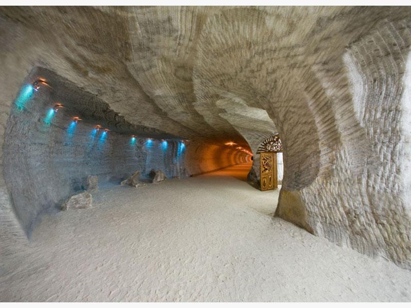 Соляные пещеры Солотвино