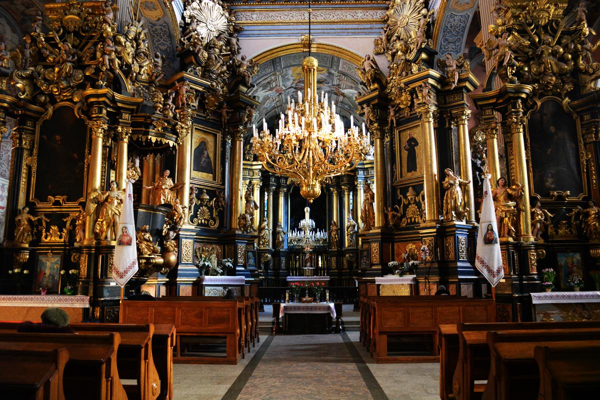 Монастырь бернардинцев внутри