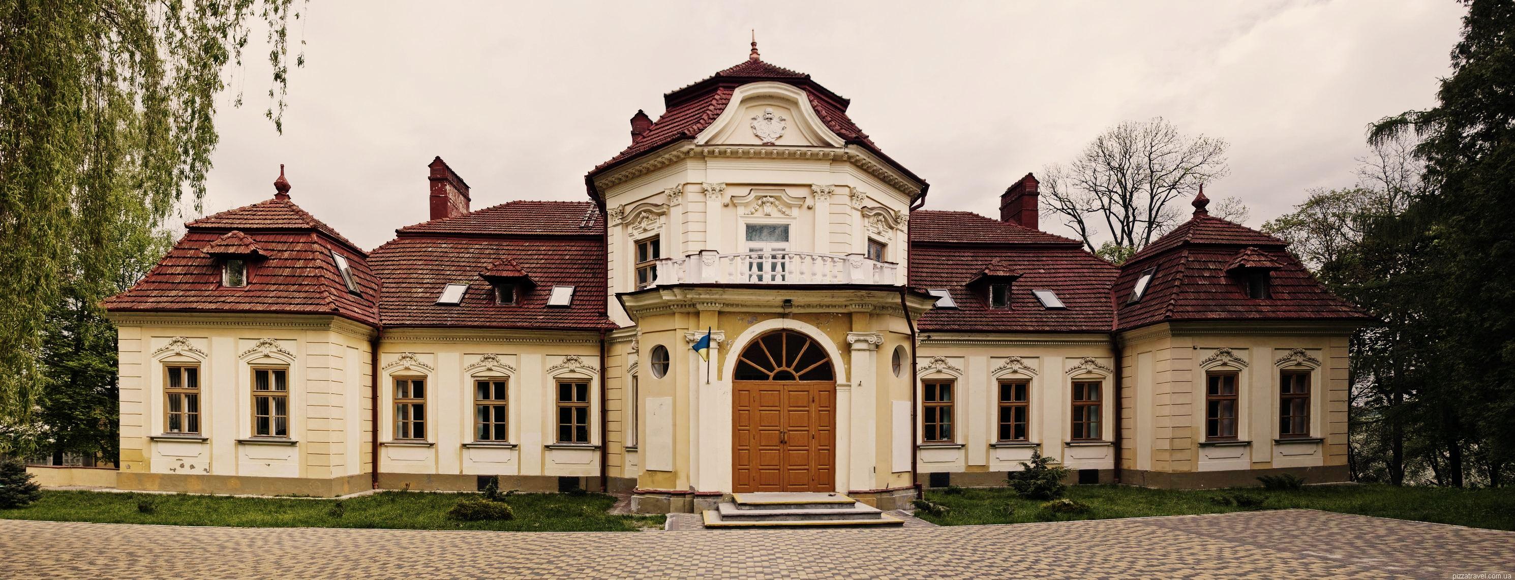 Дворец Бруницких, Великий Любень