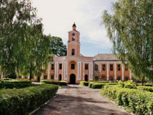 Замок Радзивіллів в Олиці