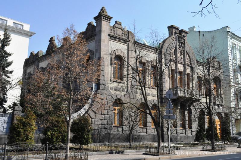 Дом «Плачущей вдовы» в Киеве