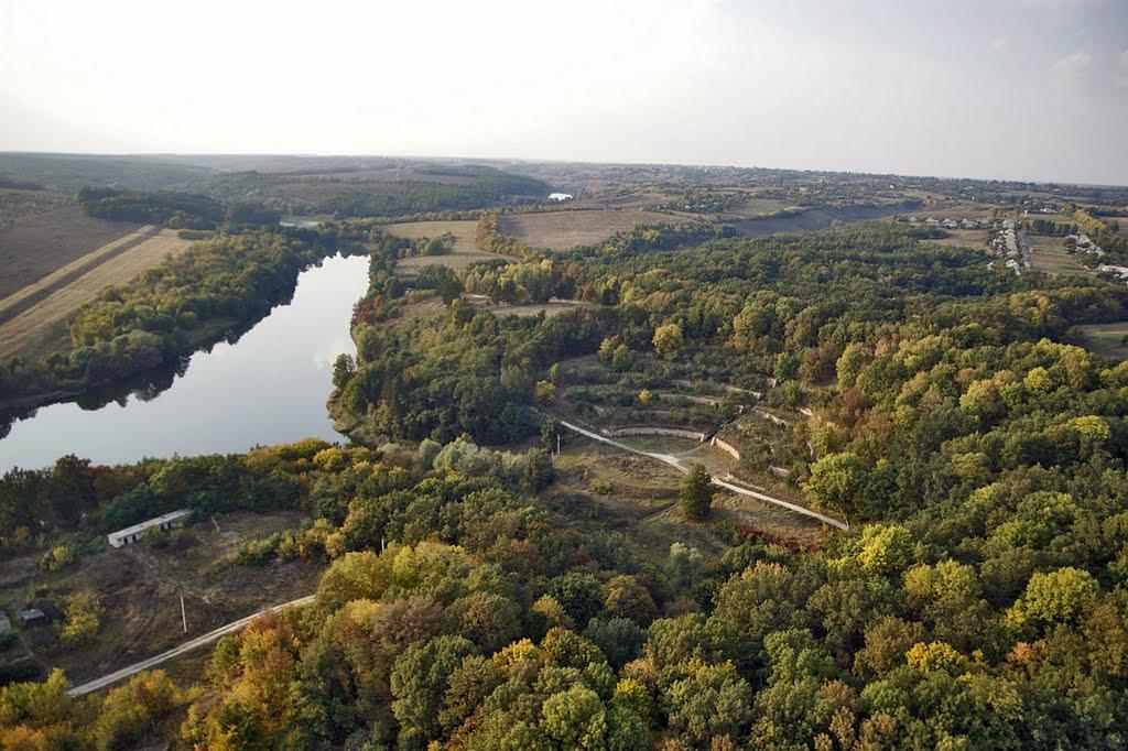 Поющие террасы в Харьковской области