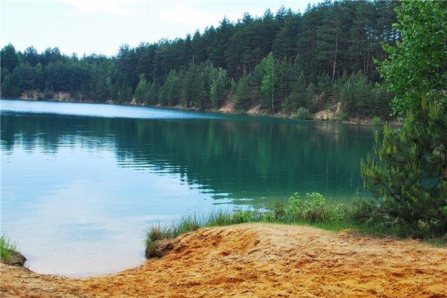 Голубые Озёра В Олешне