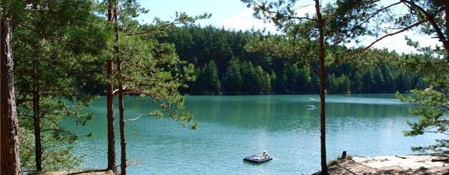 Голубых озёрах в Черниговской области