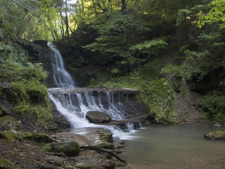 водопады русилов