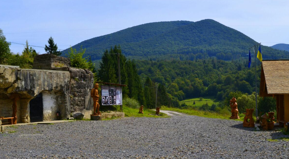 Бункер Линии Арпада, Верхняя Грабовница