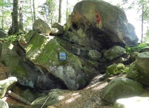 Пещера Довбуша в Подзахарычах