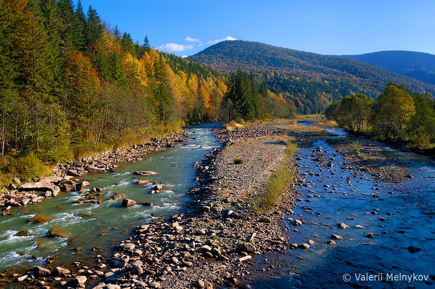 Річки в Карпатах: річки зі справжнім гірським характером